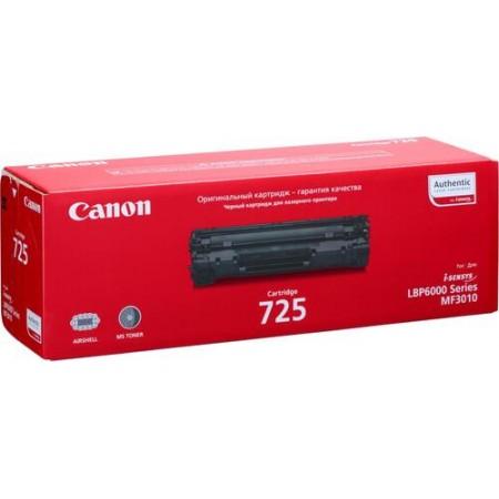Картридж Canon 725 Original for LBP6000/6000B/MF3010 1600стр
