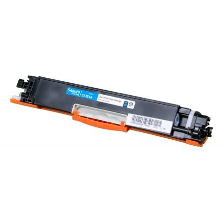 Картридж HP CF351A SAKURA CLJ Pro MFP M176N/M177FW CYAN 1K
