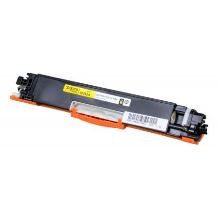 Картридж HP CF352A SAKURA CLJ Pro MFP M176N/M177FW YELLOW 1K