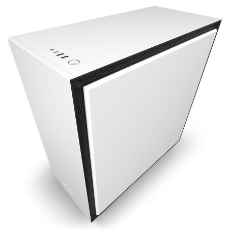 Корпус NZXT CA-H710I-W1 H710i Mid Tower White/Black with Sma
