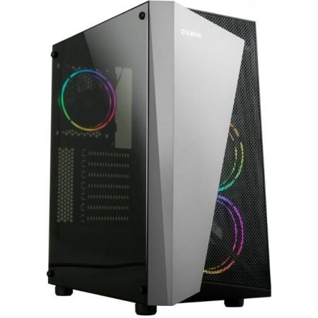 """Корпус Zalman S4 Plus Black ATX, без БП, WINDOW, 4x3.5"""", 1x2"""