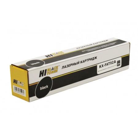Картридж Panasonic KX-FAT92A Hi-black KX-MB263/283/763/773/7