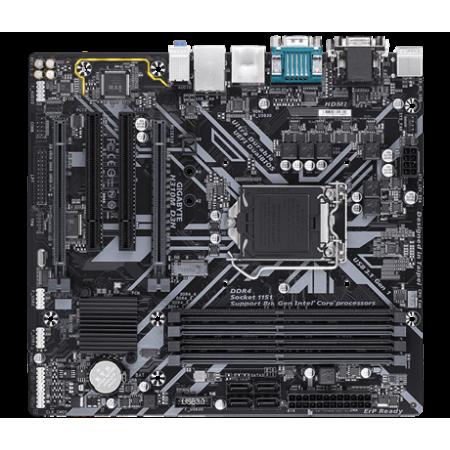 Мат. плата GIGABYTE H310M D3H S1151v2 H310 4xDDR4 1xM2 VGA/D