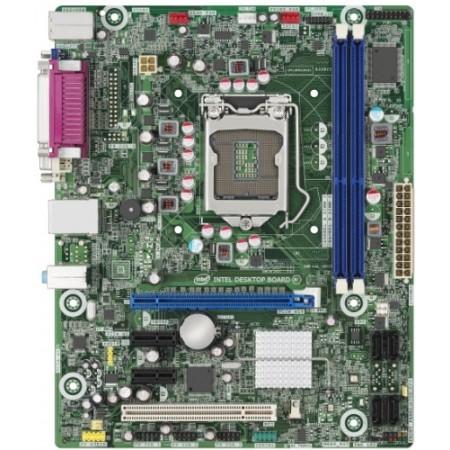 Мат. плата Intel DH61CR S1155, Intel H61, 2*DDR3, GMA,1xPCIe