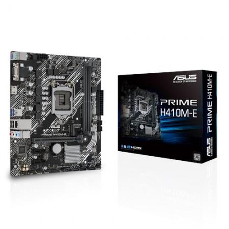 Мат. плата ASUS PRIME H410M-E S1200 2xDDR4 VGA/HDMI, 1xM.2,