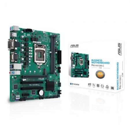 Мат. плата ASUS PRO H410M-C/CSM S1200 2xDDR4 VGA/DVI-D/HDMI