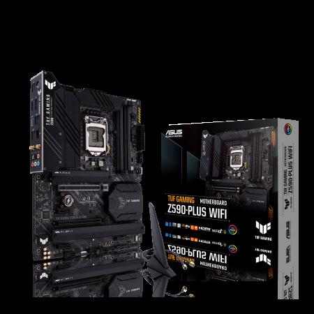 Мат. плата ASUS TUF GAMING Z590- PLUS WIFI, LGA1120, Z590