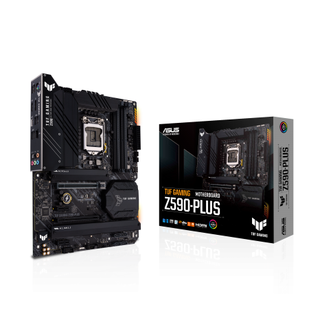 Мат. плата ASUS TUF GAMING Z590-PLUS S1200 4xDDR4 HDMI/DP