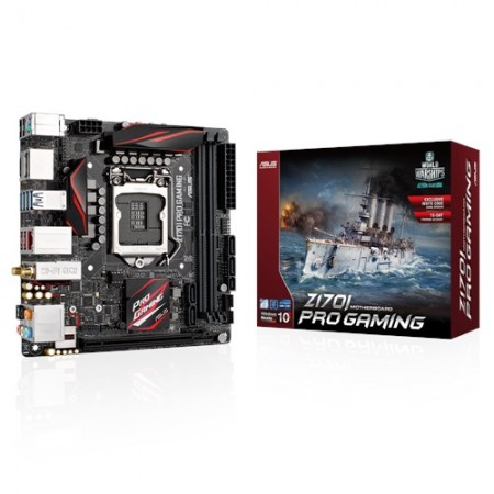 Мат. плата ASUS Z170I PRO GAMING S1151 Z170 2xDDR4 DP/HDMI A