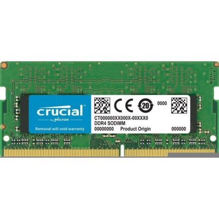 Память SO-DIMM DDR4 8Gb 2666MHz Crucial CT8G4SFS8266