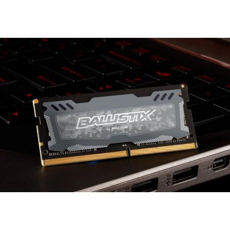 Память SO-DIMM DDR4 8Gb 2666MHz Crucial Ballistix Sport LT G