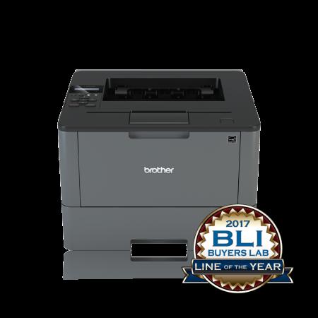 Принтер Brother HL-L5000D A4 40стр/мин 128Мб Duplex USB Grey