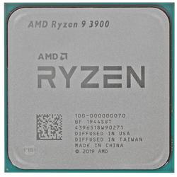 Процессор AMD RYZEN 9 3900 12C/24T AM4 3.1GHz(4.3GHz) 6MB+64