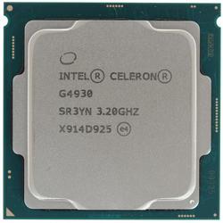 Процессор Intel Celeron G4930 S1151v2 2C/2T 3.2GHz/2Mb 54W O