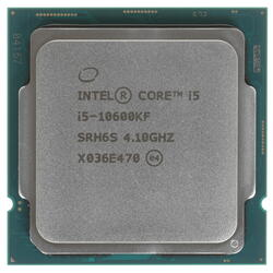 Процессор Intel Core i5-10600KF S1200 6C/12T 4.1(4.8GHz) 12M