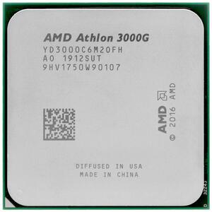 Процессор AMD Athlon 3000G 2C/4T AM4 3.5GHz Vega3 OEM