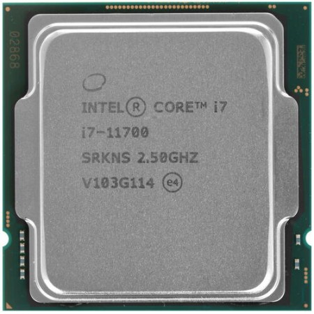 Процессор Intel Core i7-11700 S1200 8C/16T 2.5GHz(4.9) 16MB