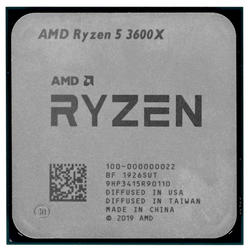 Процессор AMD RYZEN 5 3600X 95W 6C/12T 3.8GHz/Turbo Core 4.4