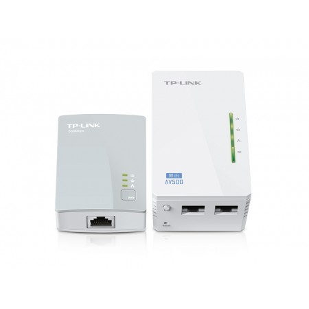 Адаптер TP-Link TL-WPA4220KIT 300Mbps Wireless AV500 Powerli
