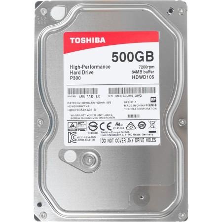 Жесткий диск Toshiba P300 500 Гб [HDWD105UZSVA]