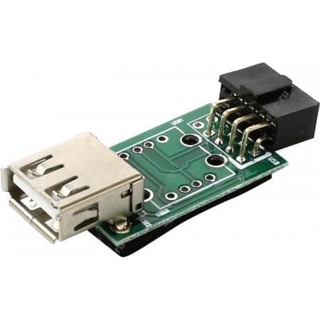 Переходник Espada [EIDC10PF-USB2x1]