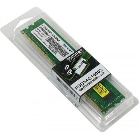 Оперативная память Patriot 4Gb [PSD34G16002]