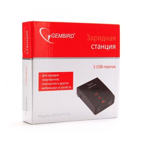 Зарядное устройство USB Gembird [MP3A-PC-02]