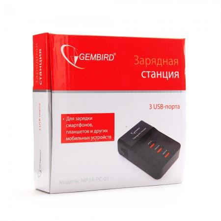 Зарядное устройство USB Gembird [MP3A-PC-01]