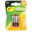 Батарея GP 15AU-CR2 Ultra  Alkaline 15AU LR6 AA (2шт.)