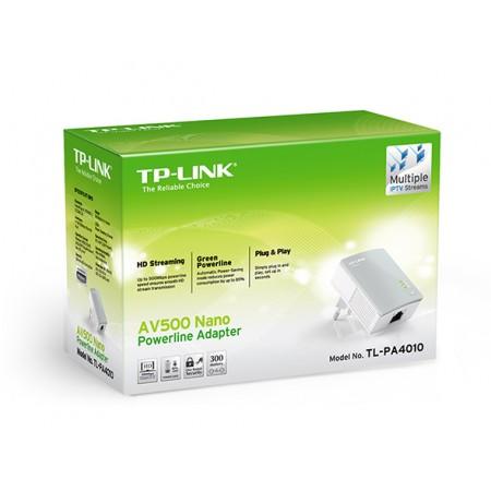 Адаптер TP-Link AV500 [TL-PA4010KIT]