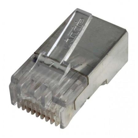 Коннектор RJ-45 cat.5e FTP 8P8C Экранированный
