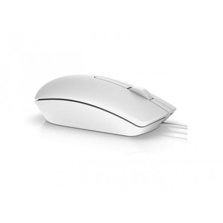 Мышь DELL MS116 White USB