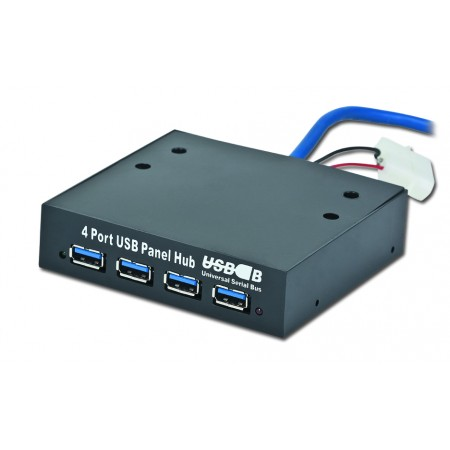 "Концентратор USB3.0 3.5"" Gembird UHB-I344 Internal 4xUSB3.0"