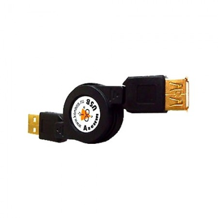 Кабель-удлинитель Konoos USB 2.0 [KCR-USB2-AMAF-0.75]