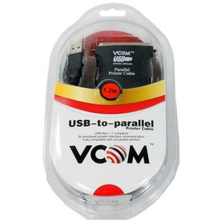 Кабель USB-to-LPT VCOM VUS7052 для принтера