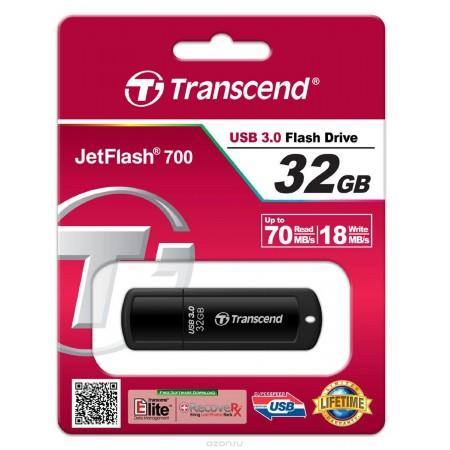 Накопитель 32GB USB Transcend  JetFlash 700 (TS32GJF700)