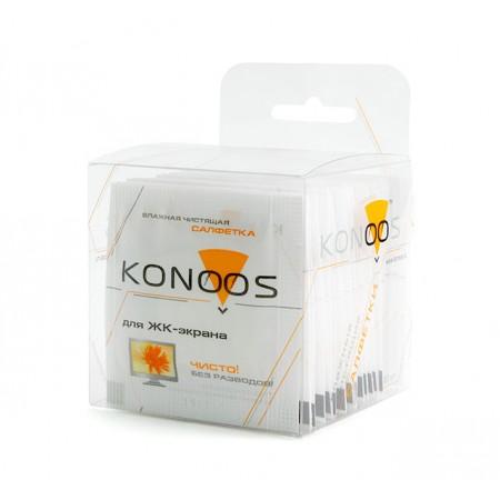 Салфетки для ЖК-экранов Konoos KTS-20