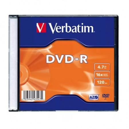 Диск Verbatim DVD-R 1.46 Gb [43510]