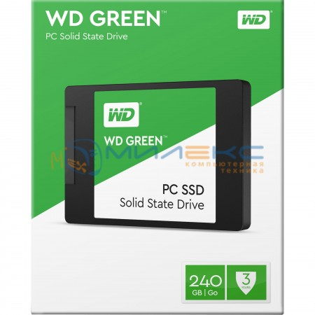 SSD-диск WD Green [WDS240G2G0A]