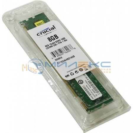 Оперативная память Crucial 8 ГБ [CT102464BD160B]