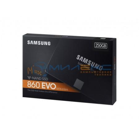 SSD диск Samsung 250Gb 860 EVO [MZ-76E250BW]