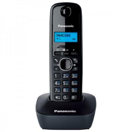Телефон Dect Panasonic KX-TG1611RUH Серый