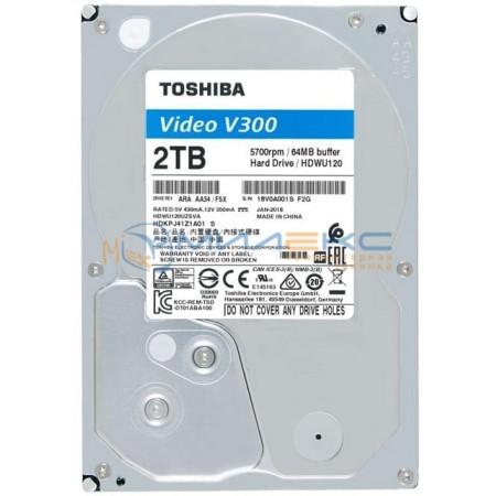 Жесткий диск Toshiba V300 2 Тб [HDWU120UZSVA]