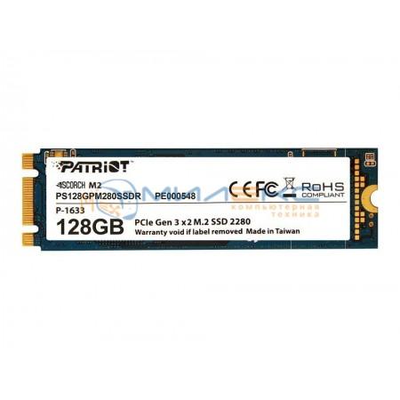 SSD диск Patriot 128 Гб SCORCH [PS128GPM280SSDR]