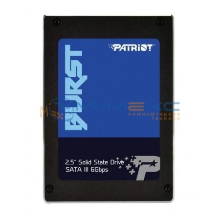 SSD диск Patriot Burst 240 ГБ [PBU240GS25SSDR]