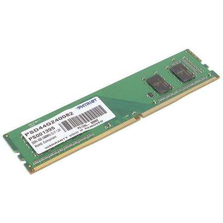 Память DDR4 4Gb 2400MHz Patriot PSD44G240082 RTL