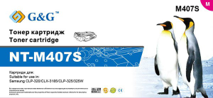 Картридж Samsung NT-M407S G&G пурпурный CLP-320/325/W CLX-31