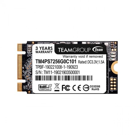 Накопитель SSD TeamGroup 256Gb MS30 TM8PS7256G0C101