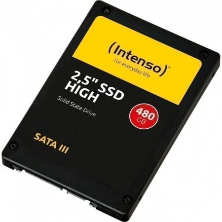 """Накопитель SSD INTENSO 480Gb SATA3 2.5"""" R520/W480 3D-TLC 381"""