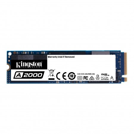 Накопитель SSD Kingston 500Gb SA2000M8/500G M.2 PCI-E3.0x4 R